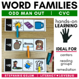 Word Families Short Vowels CVC Clip Strips