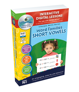 Word Families: Short Vowels - NOTEBOOK Gr. PK-2