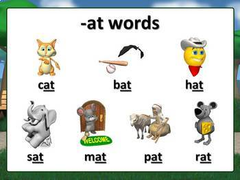 Word Families PowerPoint Lesson {Short Vowels}