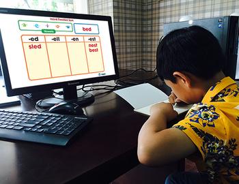 Word Families Short Vowels: Word Families Sort - PC Gr. PK-2