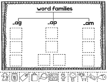 CVC Words Short Vowel a {Word Families and Medial Vowel Short a}