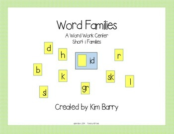 Word Families Short i