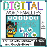 Word Families Short i for Seesaw and Google Slides Distanc