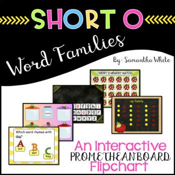 Word Families - Short o (An Interactive Promethean Board F