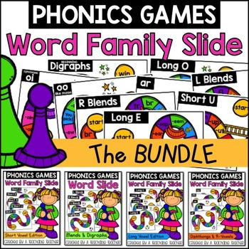 Word Families Slide BUNDLE