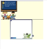 Word Families Smartboard Activity
