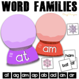 Winter Phonics Activities: short A words {Snow Globes}