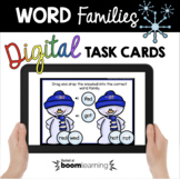 Word Families - Snowman Phonics and Reading - Winter CVC W
