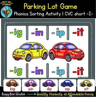 Word Families Sort Game (short - i-)