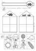Word Families Cut and Paste Sorting Activity