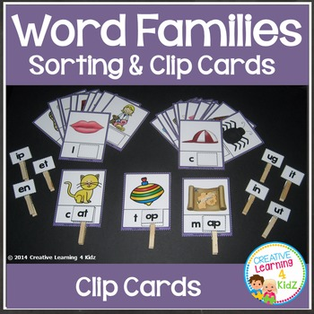 Word Families Set