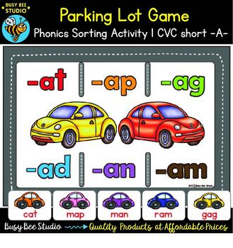 Word Families Sorting Games Bundle