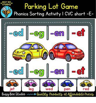 Word Families Sorting Games Bundle