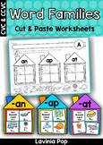 Word Family Houses Sorting Center