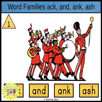 Word Family A Task Cards