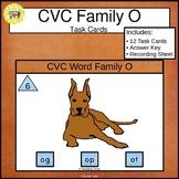 CVC Word Family Task Cards og op ot