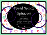 Word Families Spin a Word Literacy Center