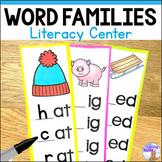 Word Families Strips - Printable & Digital