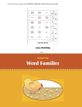 Word Families (Take It to Your Seat Centers)