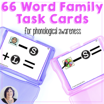Word Families Task Cards