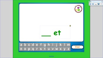 "Word Families:  The ""et"" Family"