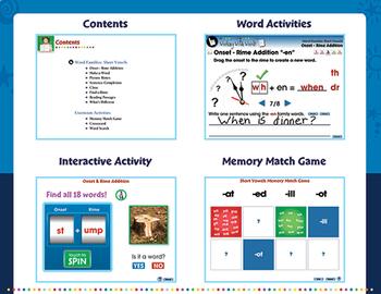 Word Families: Vowels BIG BOX - MAC Gr. PK-2