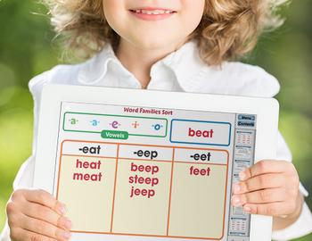 Word Families: Vowels BIG BOX - NOTEBOOK Gr. PK-2