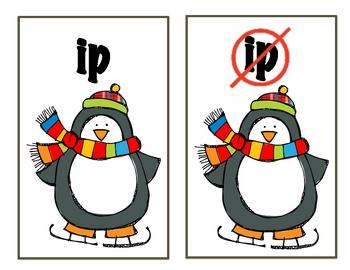 Word Families - Winter Activities