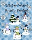 Word Families - Winter Fun