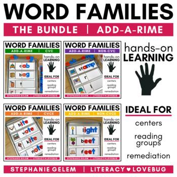 Word Families Word Build BUNDLE