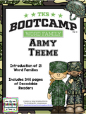 Word Families!  Word Family Bootcamp: ARMY THEME!