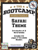 Word Family Bootcamp (Safari Theme)
