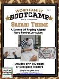 Word Family Bootcamp (Safari Theme)