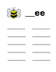 Word Families: Word Work, Work Mats, Centers:  38 pages