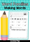 Word Families Making Words