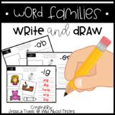 Word Families * Write & Draw
