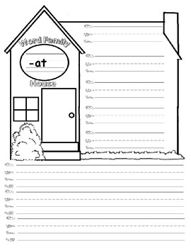Word Families Writing Book