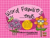 Word Families __ends {Common Core Aligned}