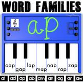 Phonics Activities: Pianos (short A)