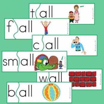 Word Families - 'all' (FREE)