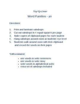 Word Families-an