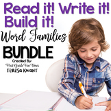 Word Families and More Read it Write it Build it