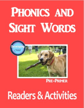 Phonics and Sight Words: Pre-Primer
