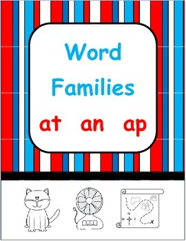 short a word families - at  an  ap