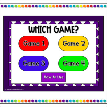Word Families -aw Words Tic-Tac-Toe Powerpoint Game