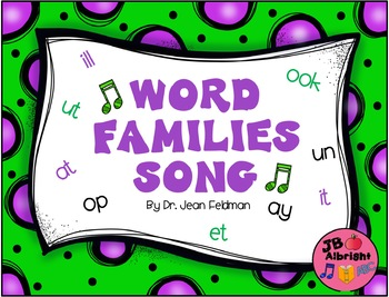 Word Families by Dr. Jean