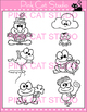 Word Families: cl Blends Clip Art Set - Personal or Commercial Use