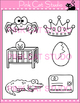 Word Families: cr Blends Clip Art - Personal or Commercial Use