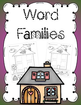 Word Families - cut and paste