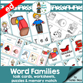 Word Families - ed